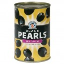 Musco Family Olive Co. Black Pearls Olives Ripe Pitted Medium