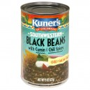 Kuner's of Colorado Beans Black with Cumin & Chili Spices