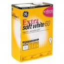 G.E. Extra Soft White Light Bulbs 60 Watt