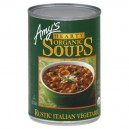 Amy's Hearty Soup Rustic Italian Vegetable Organic