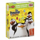 Betty Crocker Fruit Shapes The Penguins Fruit Flavored - 10 ct
