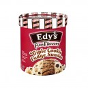 Dreyer's/Edy's Fun Flavors Frozen Dairy Dessert Triple Cookie Fudge Sundae
