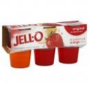 Jell-O Gelatin Cups Strawberry & Orange - 6 ct