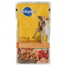 Pedigree Little Champions Wet Dog Food Grilled Cuts in Sauce with Chicken