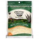 Organic Valley Cheese Mozzarella Shredded