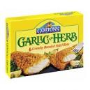 Gorton's Fish Fillets Breaded Crunchy Garlic Herb - 6 ct Frozen