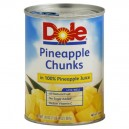 Dole Pineapple Chunks in 100% Pineapple Juice