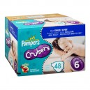 Pampers Custom Fit Cruisers Diapers Size 6 Both Big Pack - 35+ Pounds