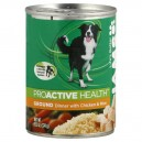 Iams ProActive Health Wet Dog Food Ground Dinner with Chicken & Rice