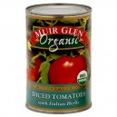 Muir Glen Tomatoes Diced with Italian Herbs Organic