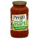 Prego Veg Smart Pasta Sauce Smooth & Simple 100% Natural