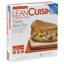 Lean Cuisine Casual Cuisine Flatbread Melts Chicken Ranch Club