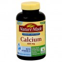 Nature Made Calcium 600 mg with Vitamin D Liquid Softgels