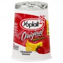 Yoplait Original Yogurt Strawberry Banana 99% Fat Free