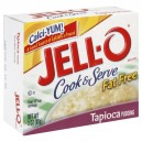 Jell-O Cook & Serve Pudding Mix Tapioca Fat Free