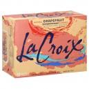 LaCroix Grapefruit (Pamplemousse) Sparkling Water - 12 pk