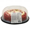 Bakery Cake Red Velvet with Cream Cheese Icing Single Layer 8 Inch