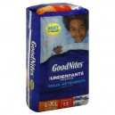 GoodNites Underpants for Nighttime Boys L/XL - 60-125 lbs