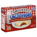 Smucker's Uncrustables Peanut Butter & Jelly Strawberry - 4 ct