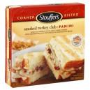 Stouffer's Corner Bistro Panini Sandwich Smoked Turkey Club