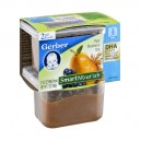 Gerber 2nd Foods SmartNourish DHA Pear Blueberry Oat - 2 pk