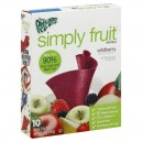 Betty Crocker Fruit Roll-Ups Simply Fruit Wildberry - 10 ct
