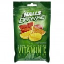 Halls Defense Vitamin C Supplement Drops Assorted Citrus
