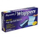 Reynolds Wrappers Pop-Up Foil Sheets 14 X 10-1/4 Inch