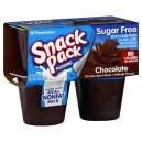 Snack Pack Pudding Chocolate Sugar Free - 4 pk