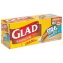 Glad Sandwich Bags Fold Top