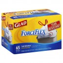 Glad ForceFlex Kitchen Bags Tall with Drawstring 13 Gallon