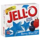 Jell-O Gelatin Dessert Berry Blue