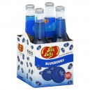 Jelly Belly Blueberry Gourmet Soda - 4 pk
