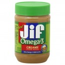 Jif Peanut Butter Creamy with Omega-3