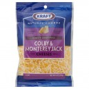 Kraft Cheese Colby & Monterey Jack Finely Shredded Natural