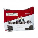 Newman's Own Organics Newman-O's Sandwich Cookies Creme Filled Chocolate