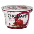 Chobani Greek Fruit on the Bottom Yogurt Pomegranate 0% Non Fat Natural