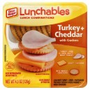 Oscar Mayer Lunchables Cracker Stackers Turkey + Cheddar