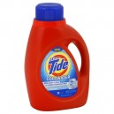 Tide 2X Concentrated Liquid Laundry Detergent Coldwater HE Fresh Scent