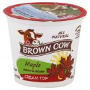 Brown Cow Cream Top Yogurt Maple All Natural