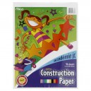 Mead Academie Jr. Construction Paper Assorted Colors 9 X 12 Inch