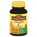 Nature Made Vitamin C 500 mg Orange Flavor Chewable Tablets