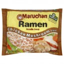Maruchan Ramen Noodle Soup Chicken Mushroom