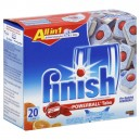 FINISH All in 1 Powerball Auto Dishwasher Detergent Tabs Orange Scent