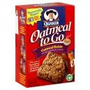 Quaker Oatmeal To Go Cereal Bars Oatmeal Raisin - 6 ct