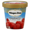Haagen-Dazs Sorbet Raspberry All Natural