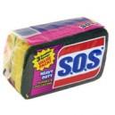 S.O.S. Scrubber Sponge Heavy Duty