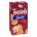 Keebler Toasteds Crackers Sesame