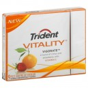 Trident Vitality Awaken Gum Peppermint with Ginseng Sugar Free Single Pack