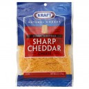 Kraft Cheese Cheddar Sharp Finely Shredded